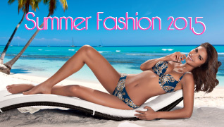 Summer Fashion. Caribbean Dreams